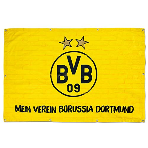 Borussia Dortmund BVB-Balkonfahne, 150x100cm