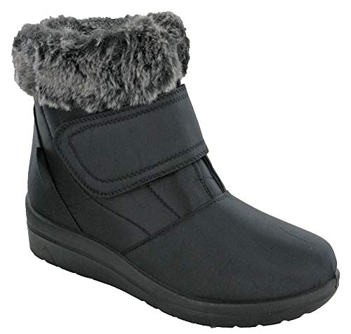 Cushion Walk Thermo-Tex CW81 - Botas de invierno para mujer, color marrón, color Negro, talla 39 EU