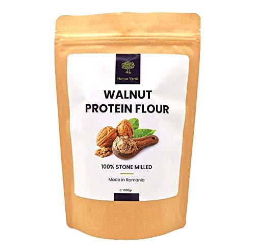 Walnut flour 32 FL Oz - by Hortus Verdi® ✅ 100% Natural ✅ European Sourced ✅ RAW VEGAN ✅ 50% Protein ✅ Gluten Free ✅ High in Protein ✅ Omega 3