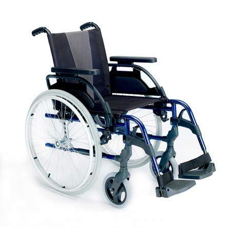 Sunrise Breezy Style Rollstuhl, 12 - 38 Räder, Marineblau