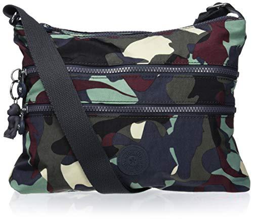 Kipling Women's Alvar Crossbody Bag, CAMO LEATHER, One Size