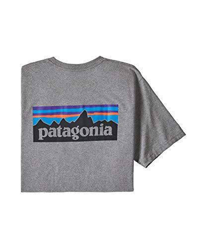 Patagonia T-Shirt pour Homme, Noir, S