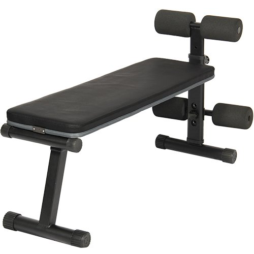 [リーディングエッジ] マルチシットアップベンチ フラットベンチ 兼用 腹筋台 トレーニングベンチ LE-B40