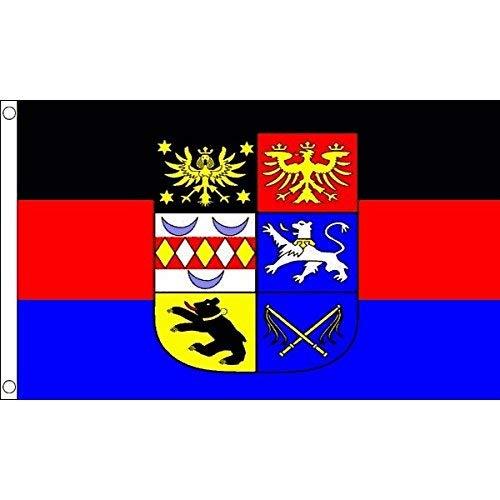 Zudrold Ostfriesische Flagge 3 'x 5' Ostfriesland Ostfriesland Flaggen 90 x 150 cm Banner 3x5 ft