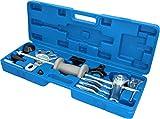 BRILLIANT TOOLS BT671350 - Martillo deslizante forjado (12 piezas) Extractor de cubos de rueda.
