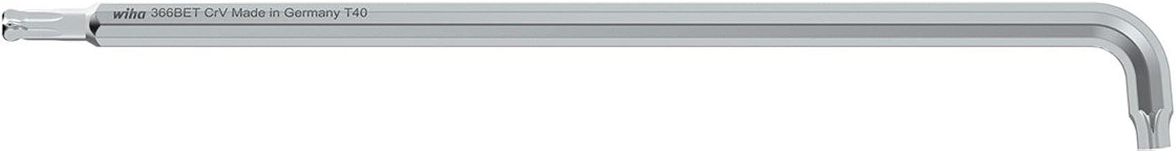 Wiha Wechselklinge TORX/® f/ür Drehmoment-Schraubendreher mit L/ängsgriff T5 x 175 mm 26158 0,4 Nm