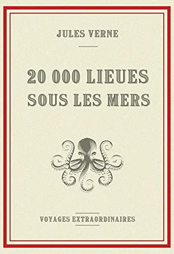 20000 lieues sous les mers : Les voyages extraordinaires de Jules Verne   édition annotée   405 pages, 17,78 cm x 25,4 cm (7 x 10 po)