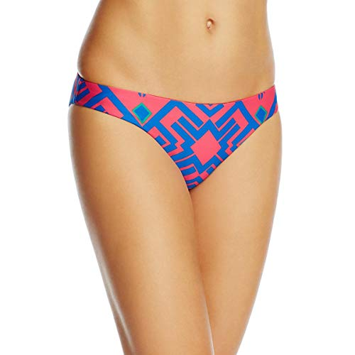 Red Carter Womens Hipster Reversible Swim Bottom Separates Red XS
