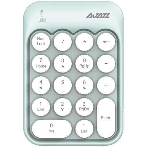 FELiCON Nummernblock, 18 Tasten, kompakt, tragbar, leise, für Windows, iMac,...