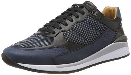 BOSS Element_Runn_numx, Herren Sneaker, Blau (Navy 401), 42 EU (8 UK)