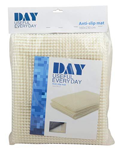 DAY - USEFUL EVERYDAY Antirutschmatte für Teppiche, Sofas, Schränke im Badezimmer, Wohnzimmer, Schlafzimmer und die Küche Skandinavisches Design weiß 160X230CM