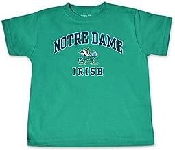 NCAA Notre Dame Fighting Irish Toddler Short Sleeve Tee, 5/6 Toddler, Kelly