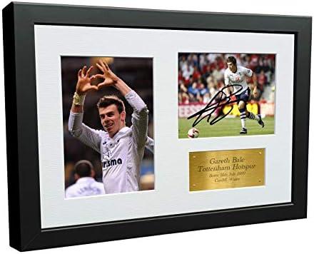 12x8 A4 Signed Gareth Bale Tottenham Hotspur Spurs Autographed Photo Photograph Picture Frame product image
