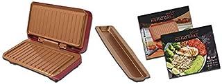 BEST DIRECT Starlyf No Fat Grill. Grill portable. Moule à sandwich. Revêtement resitant en cuivre. Cuisine saine. Chaleur ...