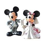5Cm Minnie Mickey Mouse Casarse con Figura De Acción Modelo De Juguete, PVC Nendoroid Estatua Muñecas Colección Regalo De Boda