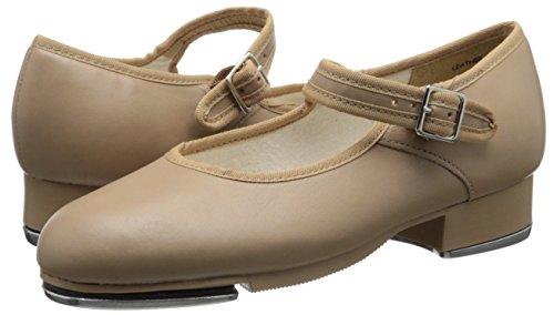 Capezio Women's Mary Jane Tap Shoe - Caramel, 3 M US