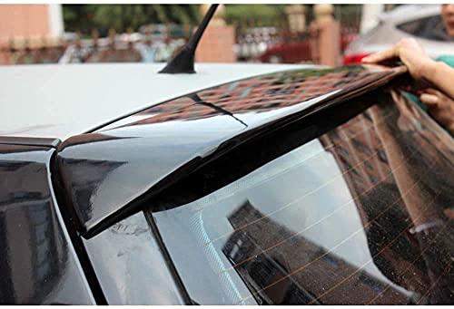 ymxyxg ABS Auto Heckspoiler für Golf 4 IV MK4 R32 and Standard 1998-2004,Schwanz Dekoration,Kofferraumdeckel Spoiler Änderungszubehör,Langlebig und Schön(Black)