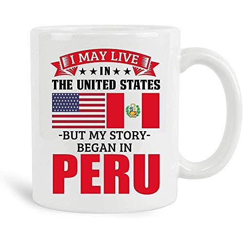 Ich mag in den Vereinigten Staaten leben, aber meine Geschichte begann in Peru