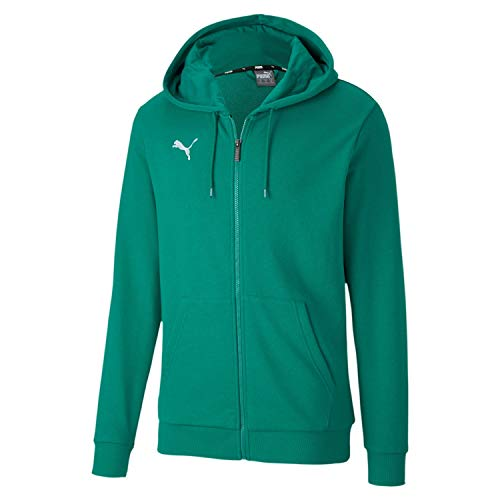 PUMA Teamgoal 23 Casuals Hooded Jacket Sudadera, Hombre, Pepper Green, S