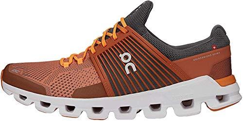 On Running M Cloudswift Orange, Herren Laufschuh, Größe EU 42 - Farbe Rust - Rock