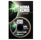 Korda Arma-Kord Braided Leaders - 50lb 20m (Sub Brown)