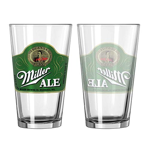 Miller Ale Vaso de Cerveza de la Vendimia
