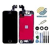Mobilevie Ecran LCD Retina + Vitre Tactile Tout Assemblé Complet sur châssis pour Iphone Se Noir + Outils