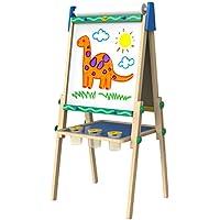 Crayola Kids Wooden Easel, Dry Erase Board & Chalkboard