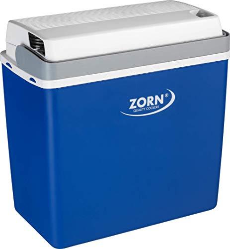 Zorn® Z24 I Elektrische Kühlbox I Kapazität 20 L I 12/230 V für Auto, Boot, LKW, Balkon und Steckdose (12 Volt & 230 Volt)