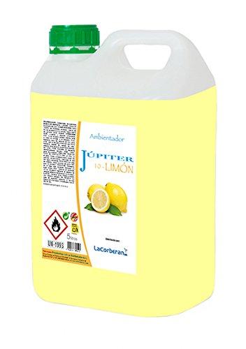 La Corberana 144855 Ambientadores Júpiter 10 Limón Profesional, 5 Litros