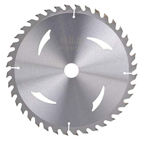 LANTRO JS - Cirkelsågblad, legeringscirkelsågblad 230 mm x 40 tänder x 25,4 mm för skärning av trä