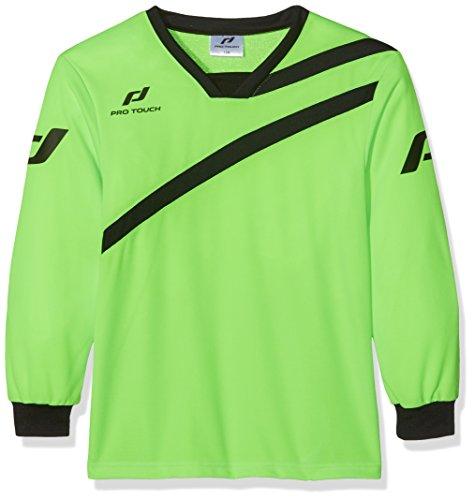 Pro Touch Barca - Camiseta de Portero Unisex para niños, Unisex niños, Camiseta de Portero, 4031832, Green Gecko, 128