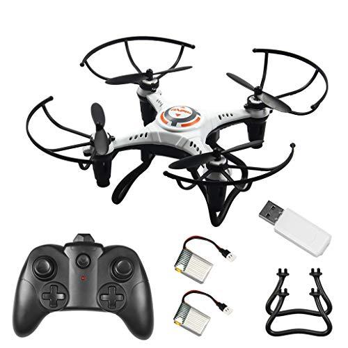 Mini 2.4G 4CH 6 Achsen RC Quadrocopter Keine Kamera Höhe halten Drohne mit LED Licht Einfach für Anfänger zu fliegen Fernbedienung Quadcopter mit Headless Modus / Schwerkraftkontrolle / 3D Flips
