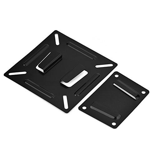 Wendry TV muurbeugel, wandhouder voor standaard voor 12-24 inch LCD-LED-monitor/TV PC-scherm, houder voor zeer sterke stalen stempelstructuur