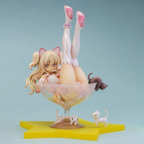 Jin Chuang 19CM SkyTube Blade Chiyuru Lingerie Anime Figure Sexy Cat Girl Adult PVC Action Figures Toy Japanese Collectible Model Doll Gift