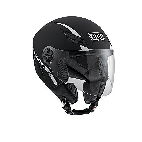 AGV Blade - Casco para Moto (sólido), Color Negro M Negro Mate