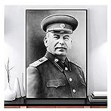 AZTeam Stalin Portrait Art Leinwand Poster Print Figur