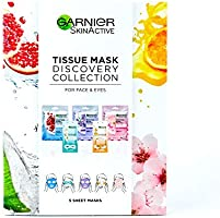 Deal on Garnier Tissue Mask Discovery Collection