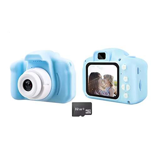 SHOP-STORY - Cámara de fotos infantil con tarjeta de memoria de 32 GB
