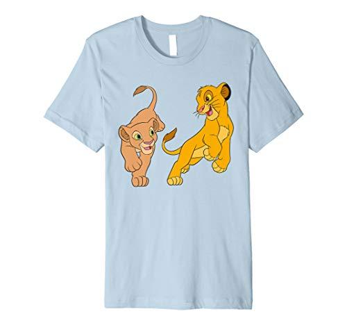 Disney The Lion King Young Simba and Nala Play T-Shirt