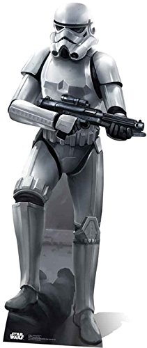 Pappaufsteller Star Wars Stormtrooper Battle Pose Höhe ca. 188cm Aufsteller Standup Figur Kinoaufsteller Pappfigur Cardboard Lebensgroß Life-Size Standup