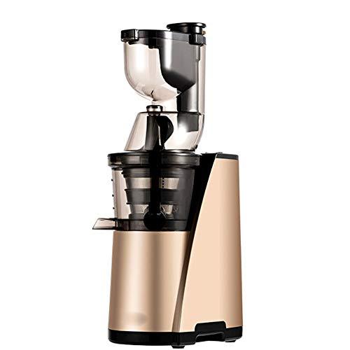 LYZL Fruit Juicer Professionelle Whole Gemüse Extractor Schnell Entsaften, Easy Clean150w Doppel Turnjuice Maschine,Gold