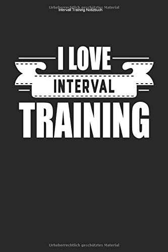 Intervall Training Notizbuch: 100 Seiten | Karierter Inhalt | Ausdauersport Ausdauer Team Workout Cardio Sport Sportart Geschenk Fitness