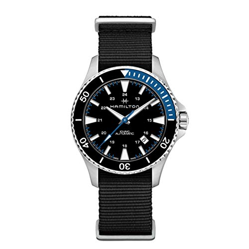 Hamilton H82315931 Khaki Navy Scuba Men's Watch Black 40mm Stainless Steel