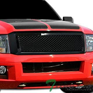 Topline Autopart Glossy Black Mesh Front Hood Bumper Grill Grille ABS For 07-14 Ford Expedition