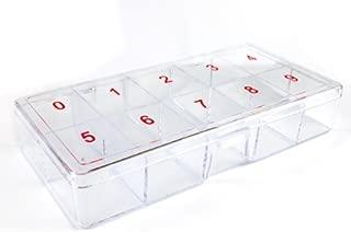 500 PCS False Nail Art Plastic False Nail Tips Storage Box For Nail False