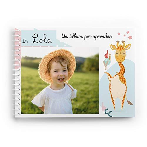Cuento Infantil Educativo Personalizado con Las Fotos del niño o niña | Álbum didáctico Fabricado en Material plástico Indestructible | Especial llar d
