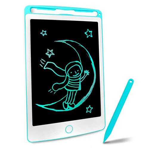 Richgv LCD-Schrijftablet, LCD Tekentafel Bord Voor Kinderen en Volwassenen 8.5 INCH Draagbare Digitale Schrijf Bord, Handschrift Doodle Verwijderbare Schrijftablet met Stylus Pen(blawu)…