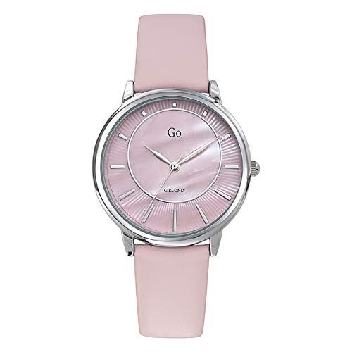 Girl Only - Reloj de pulsera analógico para mujer, color rosa, con correa de piel, UGO699320
