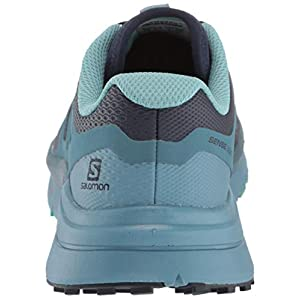 Salomon Women's Sense Max 2 Trail Running Shoes, Navy Blazer/Bluestone/Nile Blue, 8.5
